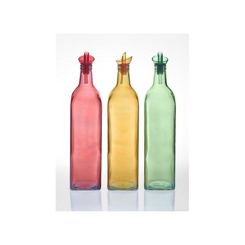 öl Essig Spender herevin farbige öl flasche 1ltr ölspender essigspender ou