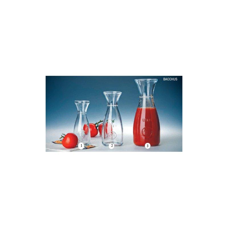 karaffe bacchus glas dekoglas wasserbeh lter saftbeh lter 0. Black Bedroom Furniture Sets. Home Design Ideas