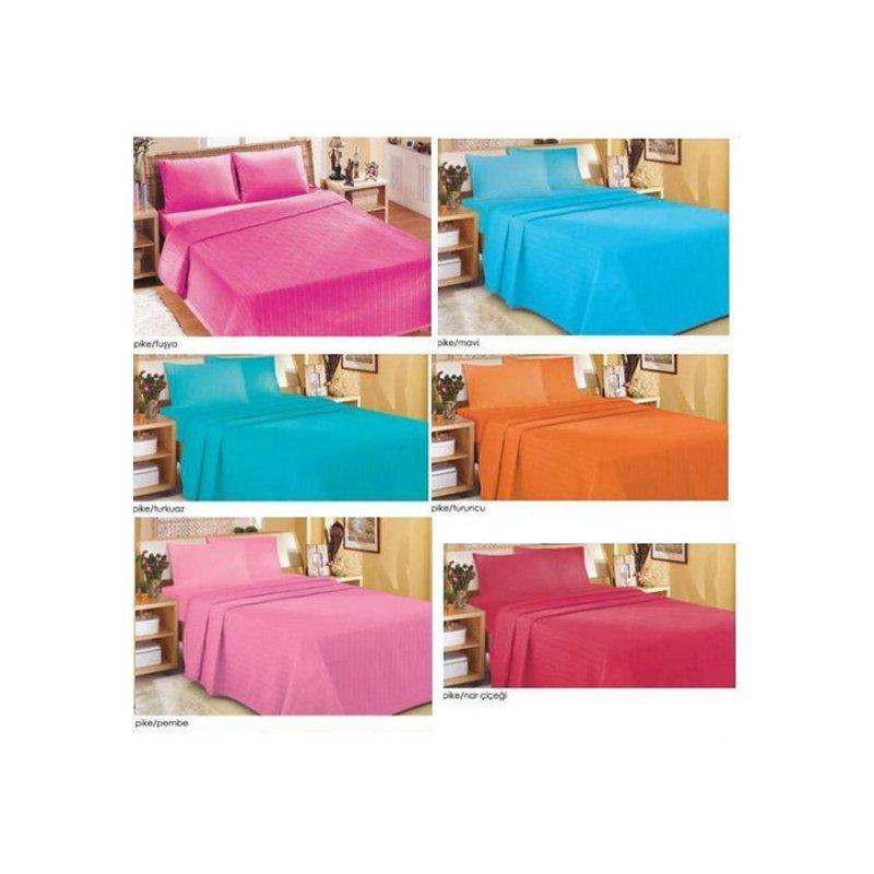 zdilek tagesdecke glatt orange 2 person bett berwurf sofa. Black Bedroom Furniture Sets. Home Design Ideas