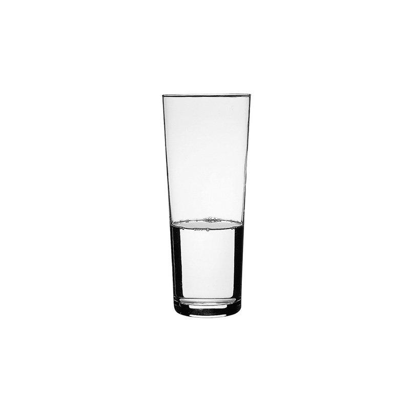 2x konische blumenvase glas vase klarglas tischvase. Black Bedroom Furniture Sets. Home Design Ideas